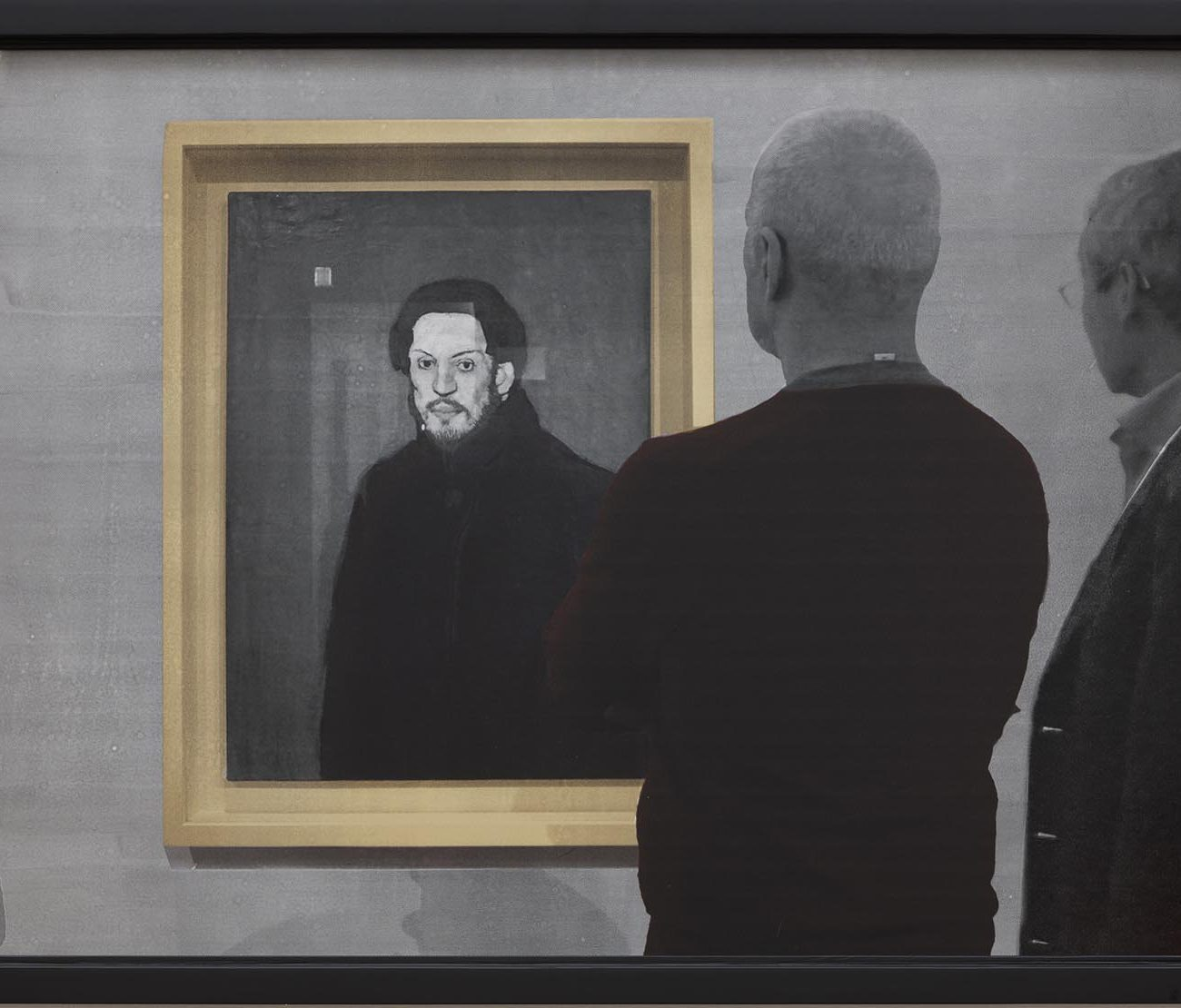 Dialogue (with Picasso), 2017 by Hongshik KIM 김홍식 작가