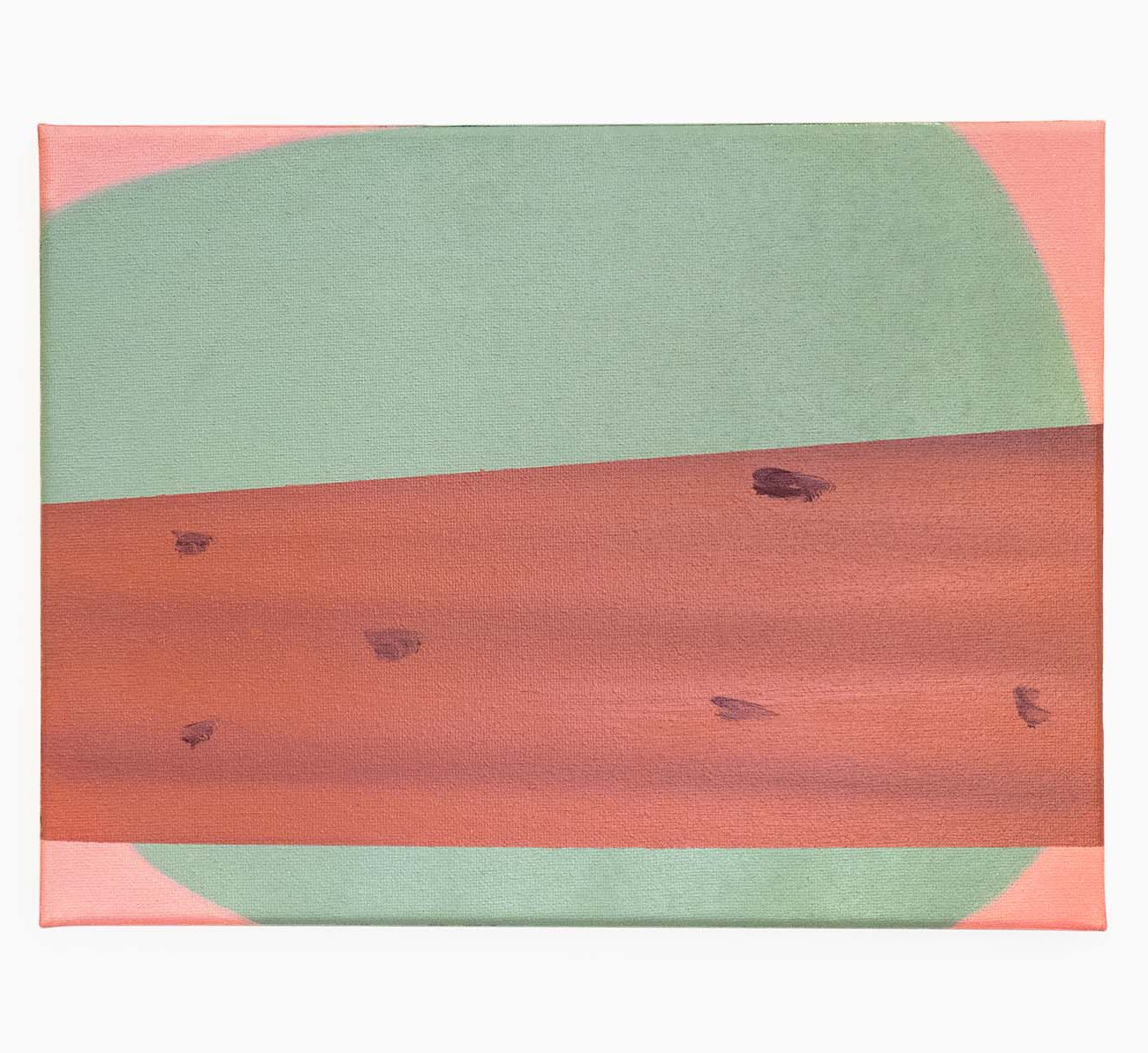 Bark 12 (W) x 9 (H) Inches Oil on Canvas 2020 by 권재나 Jarna Kwon