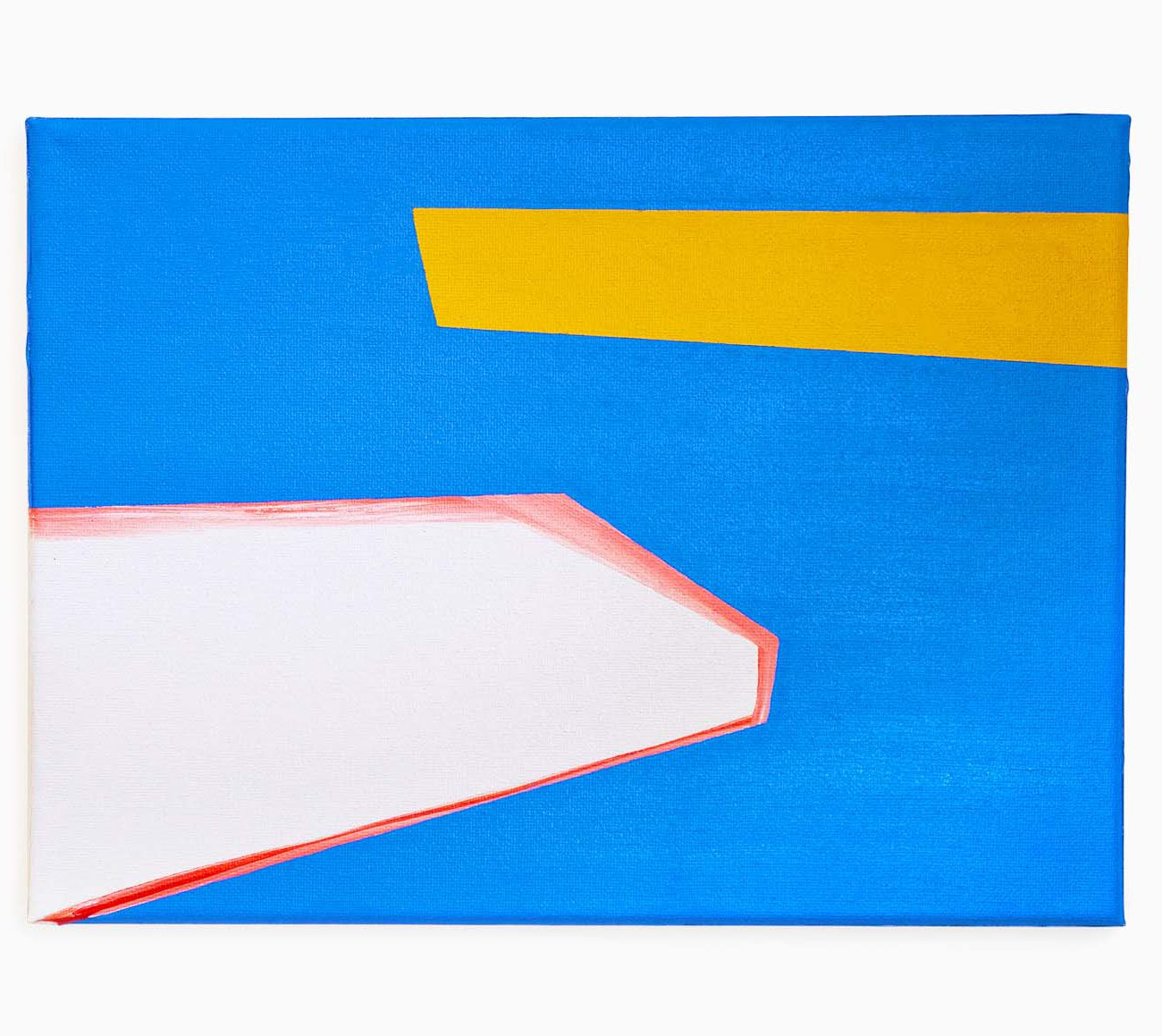 Boat 12 (W) x 9 (H) Inches Oil on Canvas by 권재나 Jaena Kwon