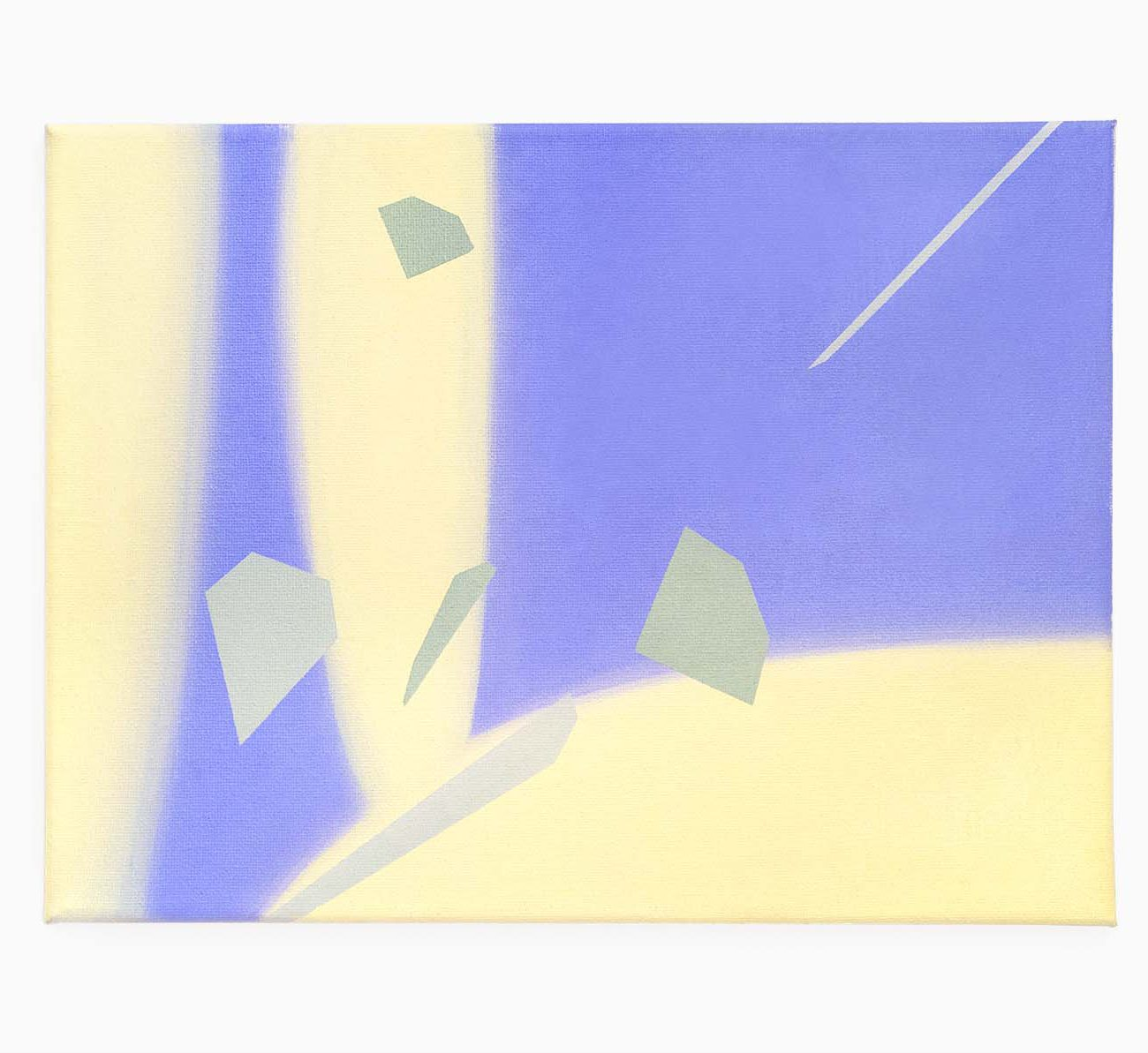 Meteo 12 (W) x 9 (H) Inches Oil on Canvas 2020 by 권재나 Jaena Kwon