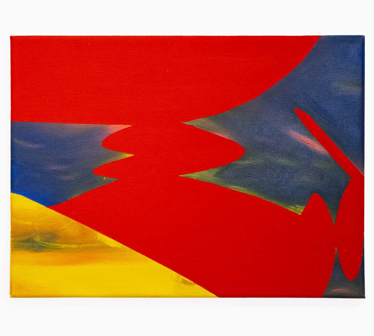 Sun 12 (W) x 9 (H) Inches Oil on Canvas 2020 by 권재나 Jaena Kwon